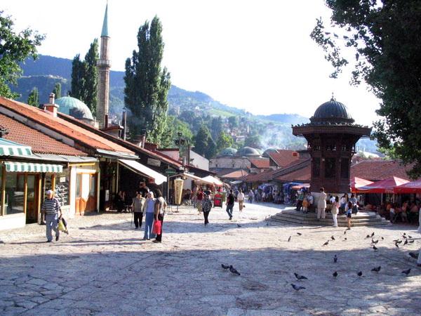 Sarajevo Old Town by Daniel Wabyick