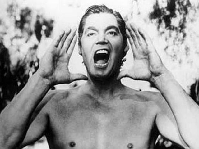 Image result for johnny weissmuller as tarzan