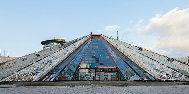 Image result for pyramid of tirana