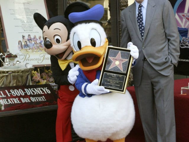 'Gay' Mickey and Donald Statue Hauled From Serbian Exhibition | Balkan  Insight