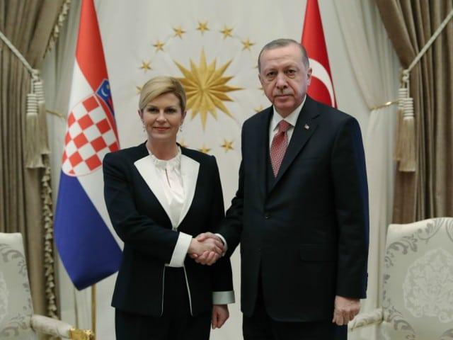 Kenwood Kenon tražio podršku Erdoana za reformu izbornog zakona u BiH Kitarovic-erdogan-640