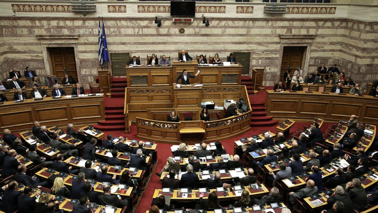 Greece's Parliament backs North Atlantic Treaty Organisation  admission for Macedonia