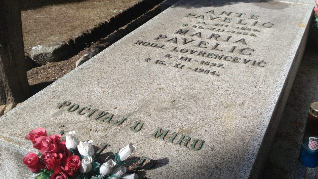 Croatian Fascist Leader's Tomb Vandalised in Spain | Balkan Insight