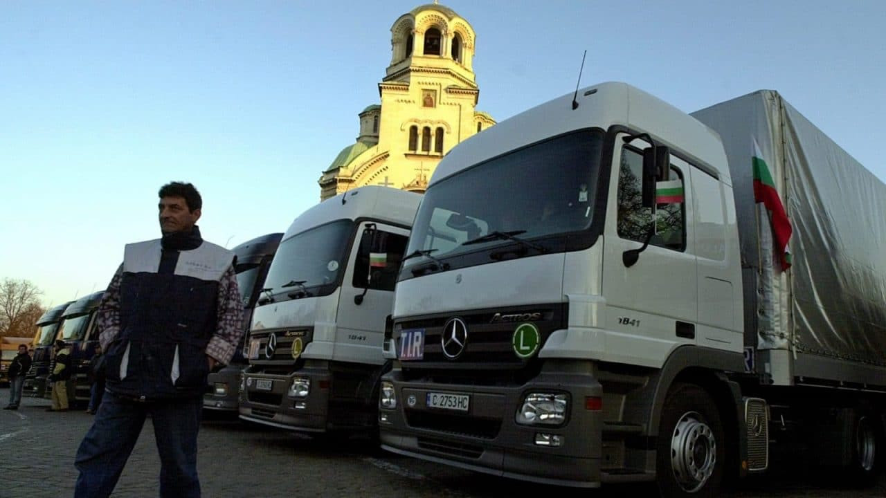Bulgarian Truckers Threaten to Protest in Strasbourg