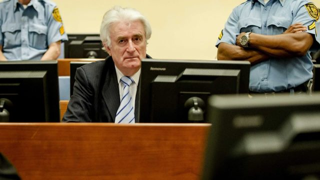Radovan Karadzic Temporarily Allowed Video Calls from Detention