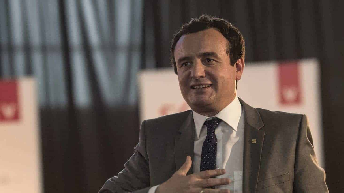 Kurti: We'll Stop Presidents Running Kosovo-Serbia Talks   Balkan Insight