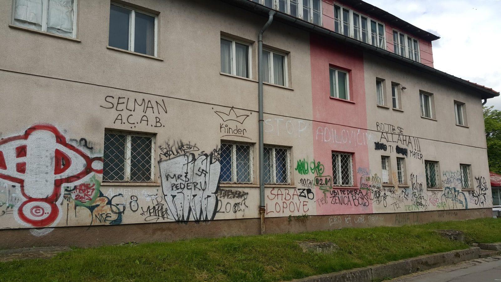 Young bosnians turn hateful graffiti into joyful art balkan insight
