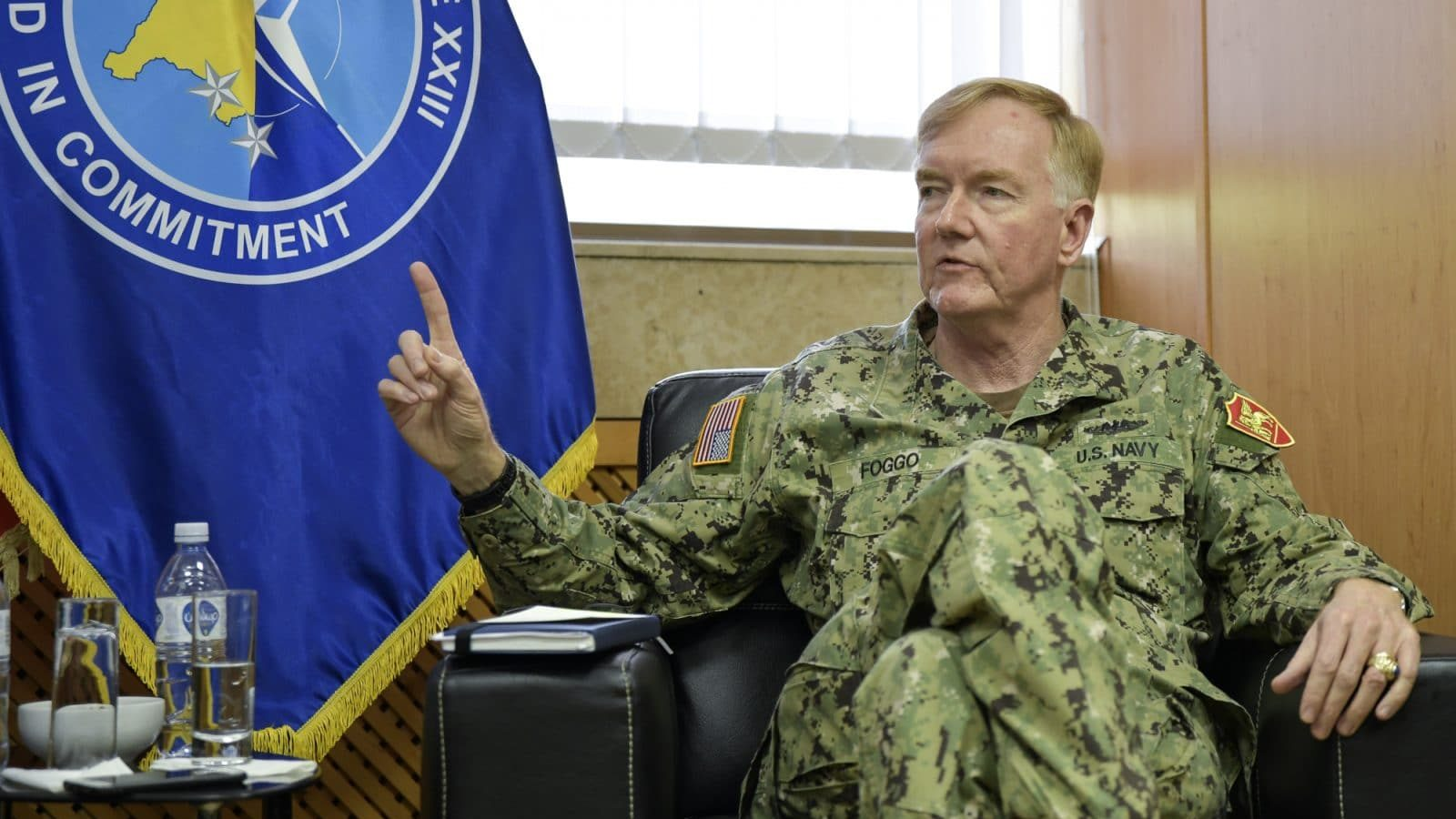 NATO Admiral: Compromise Needed for Kosovo-Serbia Deal | Balkan Insight