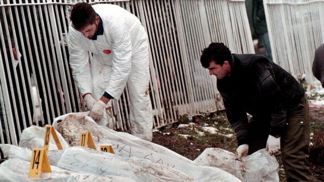 Bosnia, Serbia Exchange Exhumed Remains of War Dead