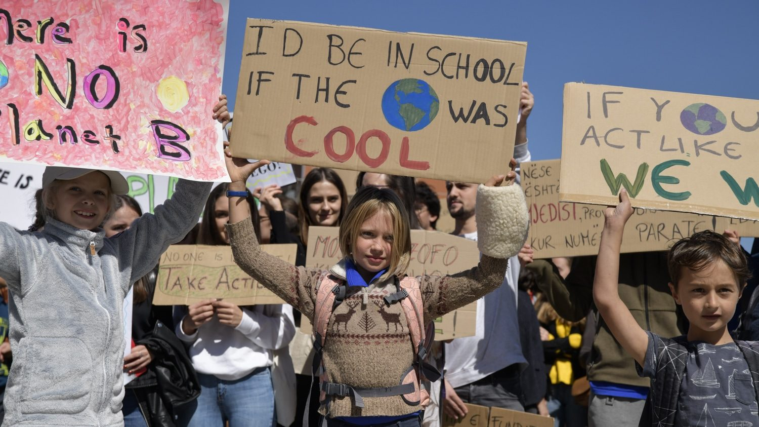 Balkan Youngsters Join Global Climate Change Action | Balkan Insight