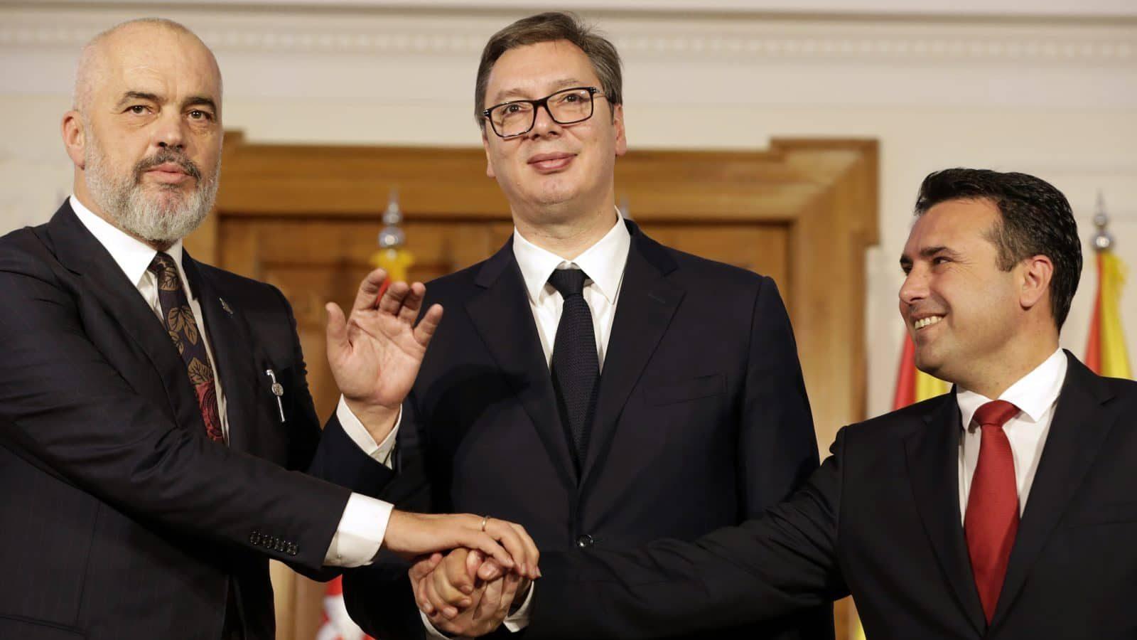 Albania, North Macedonia, Serbia Sign 'Mini-Schengen' Declaration | Balkan Insight