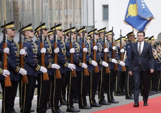 Kurti Vows to Make Military Service Compulsory in Kosovo