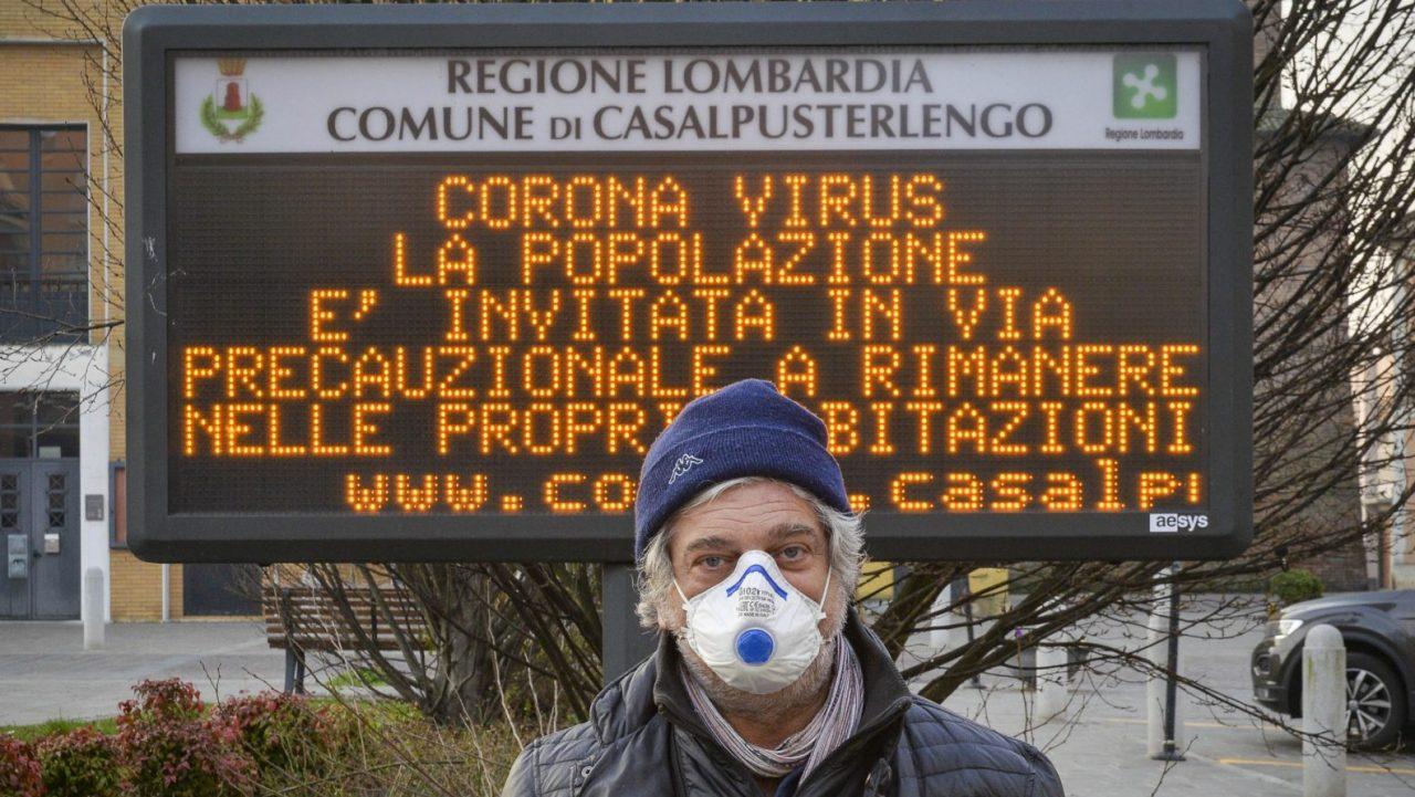 how many corona virus cases in italy