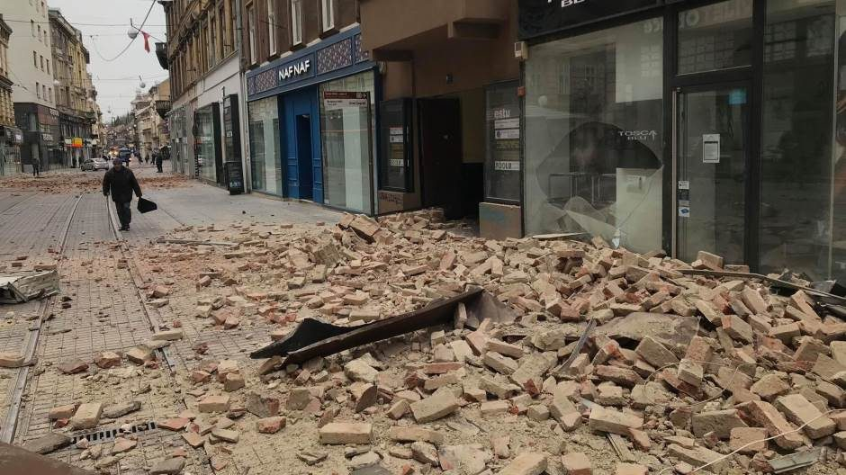 Powerful Earthquake Rocks Croatian Capital Zagreb Balkan Insight