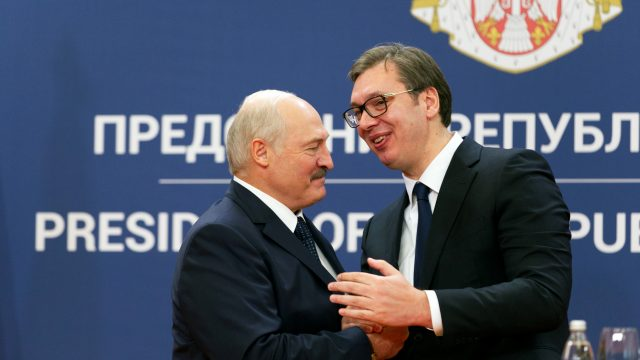 Serbia Aligns With EU Sanctions on Belarus