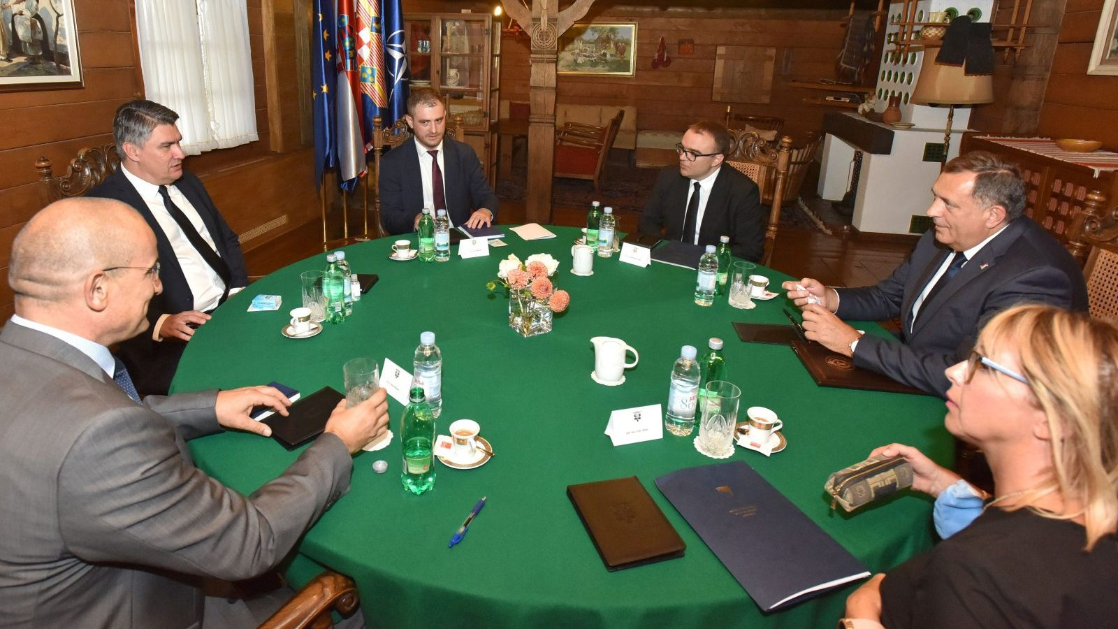 Croatian Leaders Criticised for Inviting Dodik to Zagreb