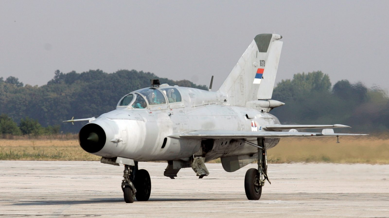 Serbian MiG-21 Crashes Near Bosnian Border, Killing Both Pilots ...