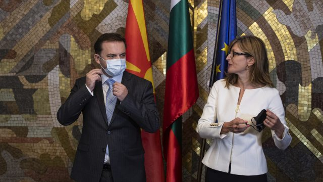 North Macedonia Reassures Bulgaria over Objections to Country's Name