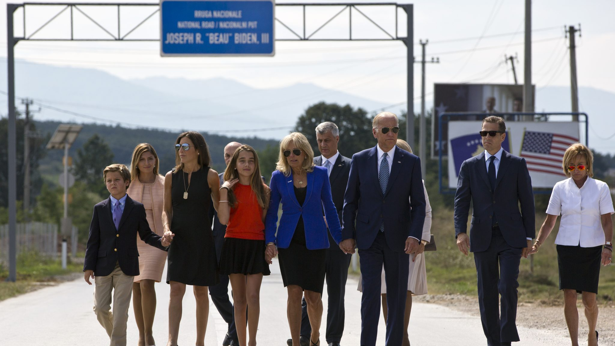 Joe Biden Woos America's Bosnian, Albanian Voters Before Polls