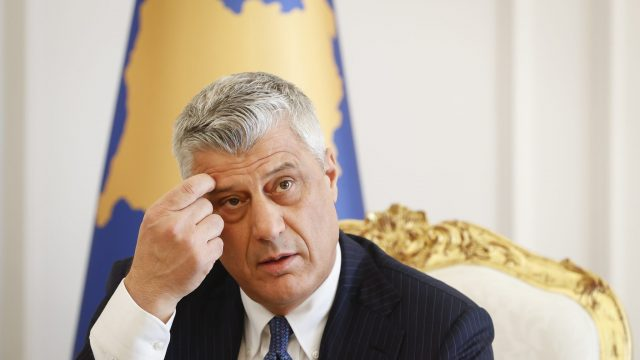 Troubled Relationship: Kosovo's Thaci and the Hague War Crimes Court