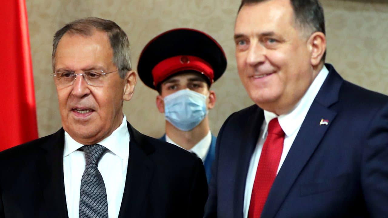 Russia's Lavrov says Bosnia's peace deal must not be changed