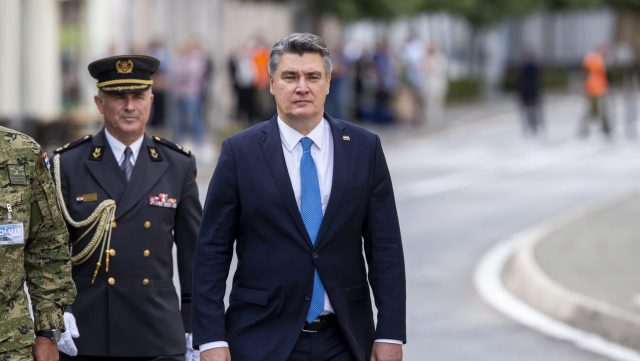 Croatian President Snubs Military Commemoration over Fascist Insignia
