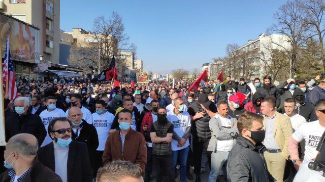 Clashes Erupt at North Macedonia Protest Against Terror Verdict