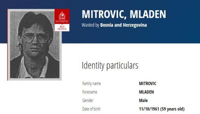 Interpol Urges Arrest of Bosnian War Detention Camp Guard