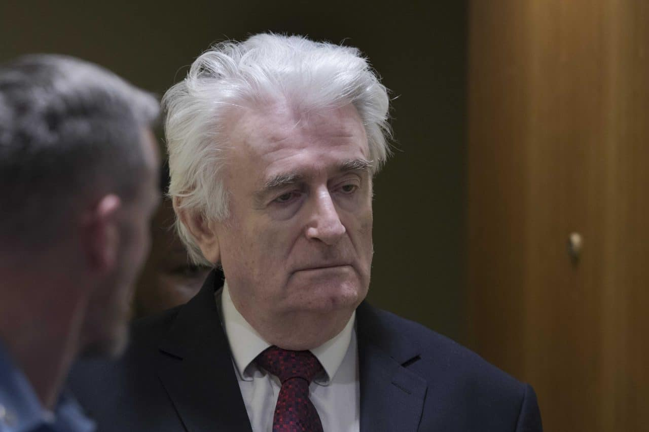 Radovan Karadzic Contests 'Death Sentence' Transfer to British Jail |  Balkan Insight