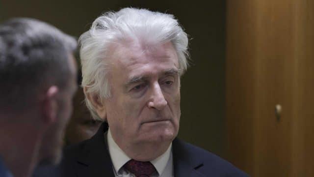 Radovan Karadzic Contests 'Death Sentence' Transfer to British Jail