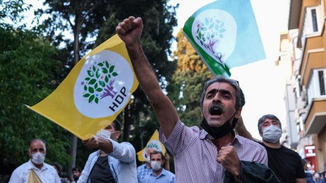 Turkish Court Accepts Indictment on Outlawing Pro-Kurdish Party