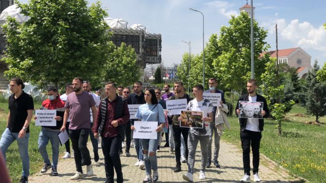 Liturgy at Contested Serbian Church Prompts Protests in Kosovo