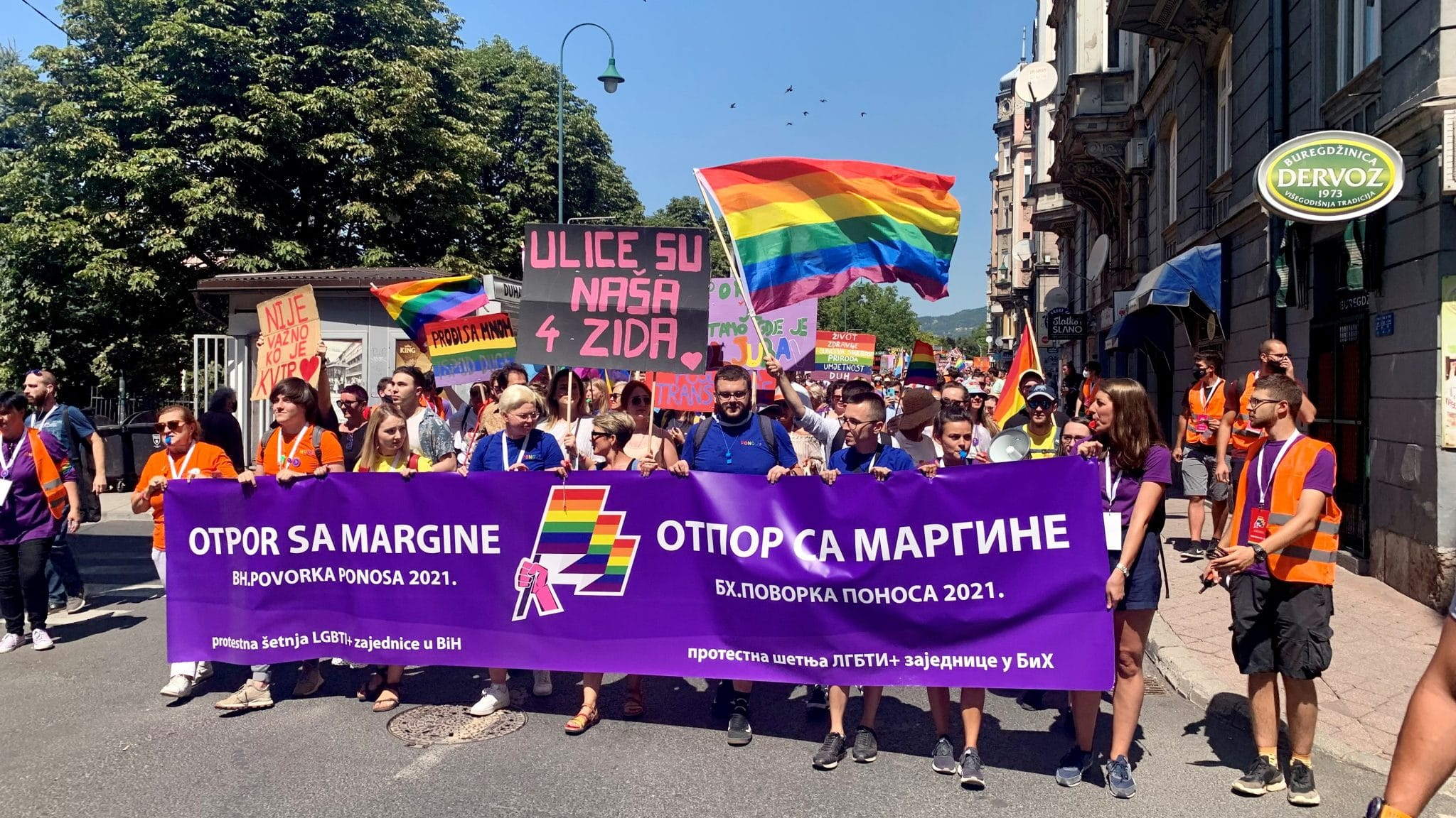Sarajevo's Pride Parade Calls For More Rights for LGBT Community