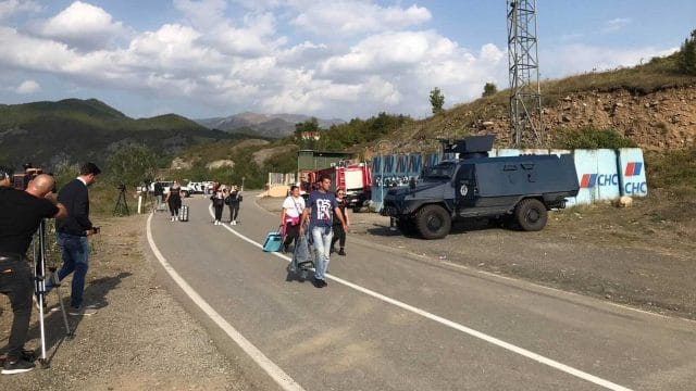 Kosovo-Serbia Border Dispute 'Driven by Internal Politics'