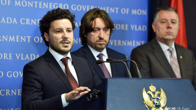 Montenegro Deputy PM Accuses Former Police Officials of Gang Ties